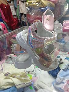 Літні босоніжки, сандалі для дівчинки розмір 22 25