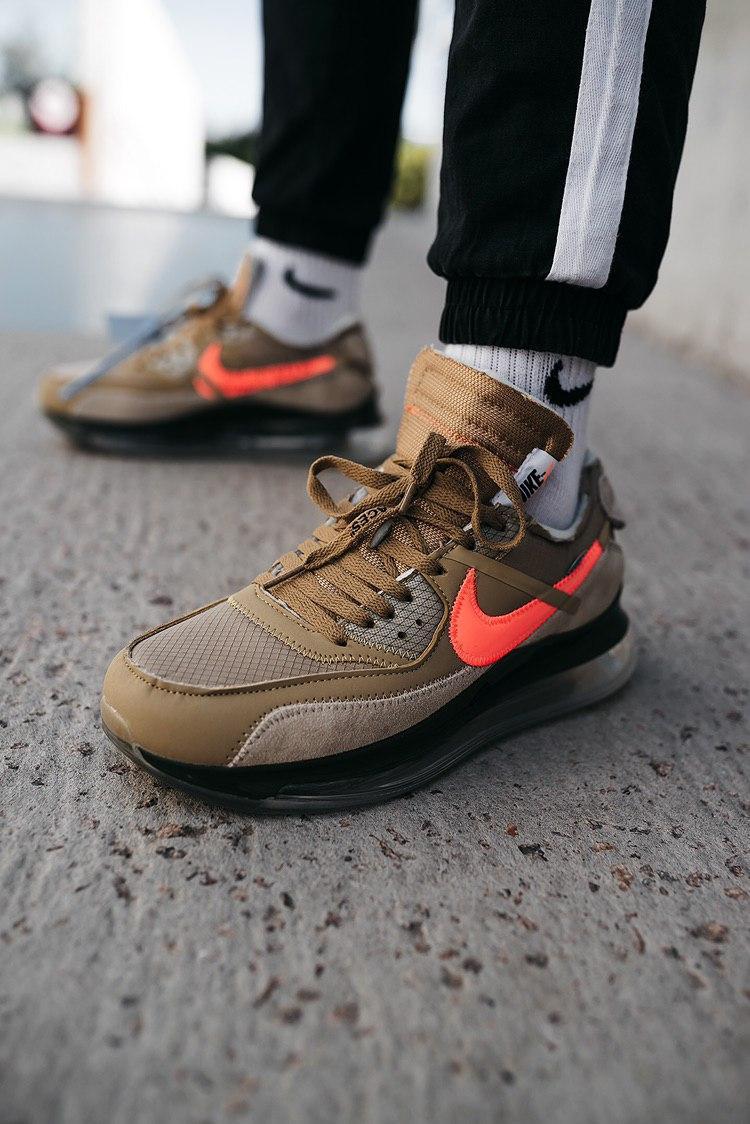 Кроссовки женские Nike OFF-WHITE x Air Max Desert Ore