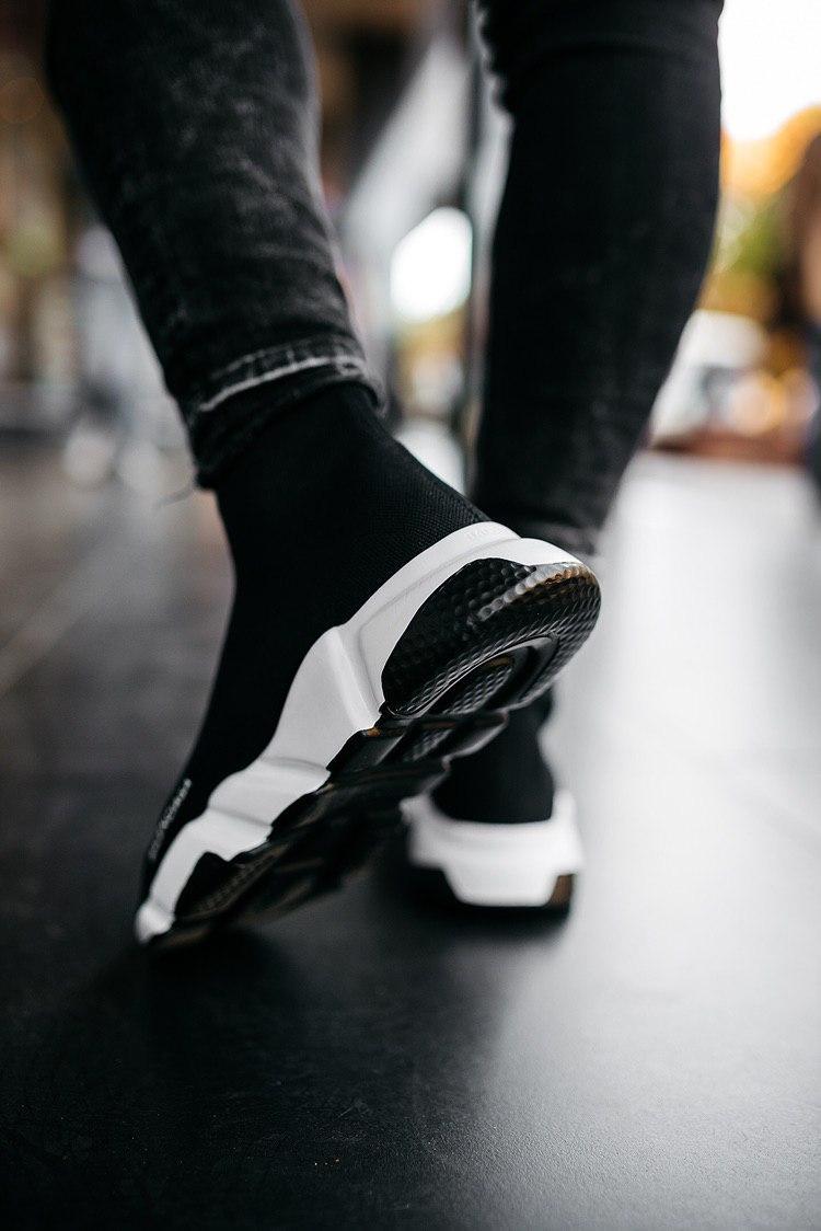 Кроссовки женские Balenciaga Speed Trainer Black 2019