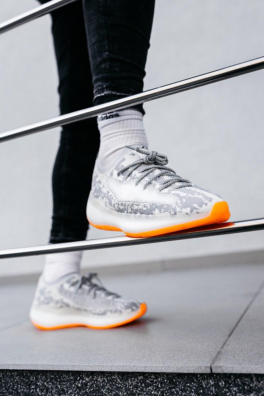 Кроссовки женские Adidas Yeezy Boost 380 Triple Black Grey
