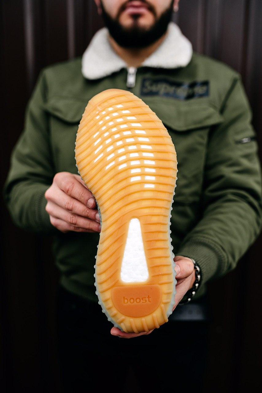 Кроссовки женские Adidas Yeezy Boost 350 V2 Infant Desert Sage