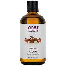 """Эфирное масло гвоздики NOW Foods, Essential Oils """"Clove"""" (118 мл)"""
