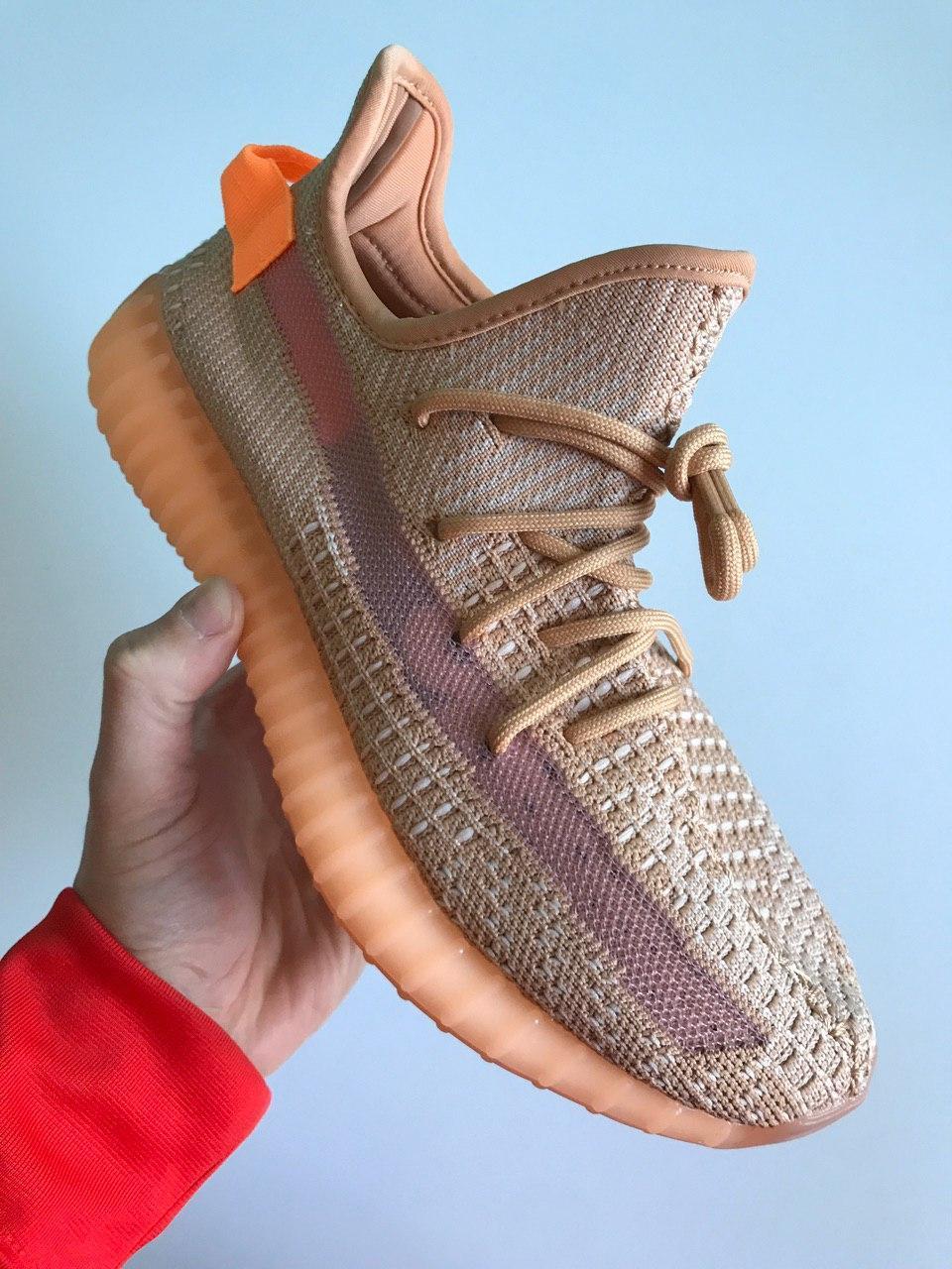 Кроссовки женские Adidas Yeezy Boost 350 V2 Clay