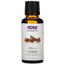 """Эфирное масло гвоздики NOW Foods, Essential Oils """"Clove"""" (30 мл)"""