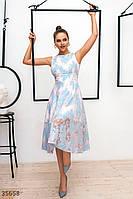 Кружевное платье а-силуэта Gepur XS,S,M,L