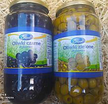 Оливки без кістки dripol 850 грм