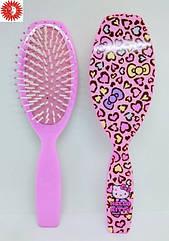 Расчёска для волос La Rosa Hello Kitty детская массажная 7054 LR