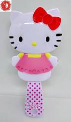 Расчёска для волос LaRosa Hello Kitty детская массажная 7029 LR