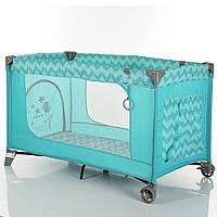 Детский манеж-кровать складной с боковым входом SAFE Original