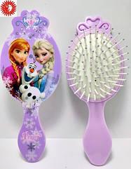 Расчёска для волос La Rosa Холодное серце - Анна & Эльза детская массажная 6073-1 LR