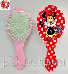 Расчёска для волос La Rosa Miss Minnie детская массажная 6074-1 LR