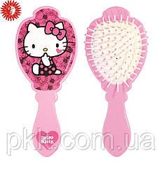 Расчёска для волос La Rosa Hello Kitty детская массажная розовая 6074-2