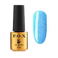 Гель-лак для ногтей с шиммером  F.O.X Dolls Princess №573, 6мл
