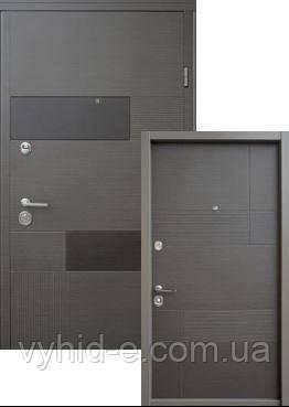 Двери входные STRAJ. LUX Standart Вулкан/Калифорния