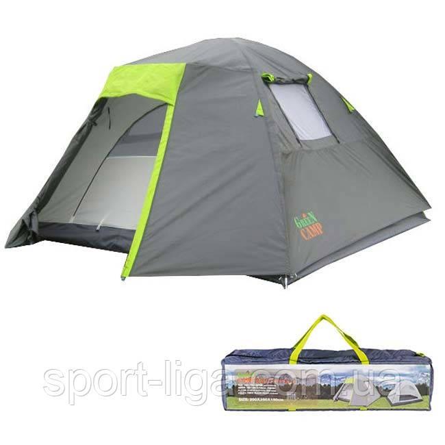 Палатка 4-х местная GreenCamp 1013-4