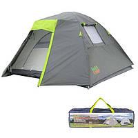 Палатка 4-х местная GreenCamp 1013-4, фото 1