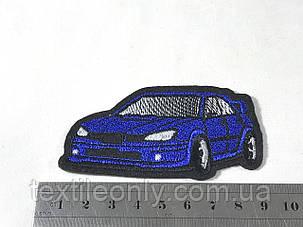 Нашивка  автомобиль Субару / Subaru 85х45 мм, фото 2