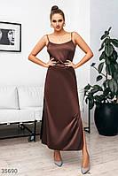 Элегантное платье в бельевом стиле XS,S,M,L, фото 1