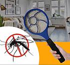 Электрическая мухобойка Rechargeable Mosquito-hitting Swatter, фото 2