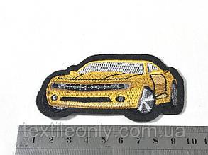 Нашивка автомобиль Камаро / Camaro 85х40 мм, фото 2