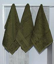 ТМ TAG Набор полотенец 30х50 (3 шт) зелен.