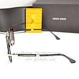 Солнцезащитные очки Emporio Armani Авиаторы с поляризацией для водителей Поляризационные Armani реплика, фото 3