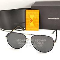 Солнцезащитные очки Emporio Armani Авиаторы с поляризацией для водителей Поляризационные Armani реплика