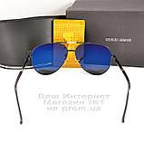 Солнцезащитные очки Emporio Armani Авиаторы с поляризацией для водителей Поляризационные Armani реплика, фото 6