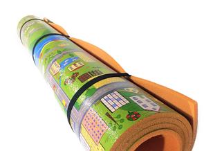 """Дитячий ігровий килимок """"Паркове містечко"""" розмір 1200х1200х8мм. Розвиваючий ігровий килимок для дітей"""