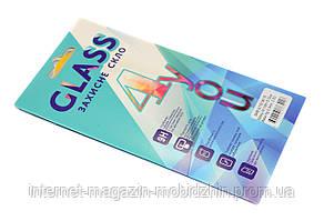 Защитное стекло Samsung A115 Galaxy A11 черное 3D, на весь экран, полная поклейка
