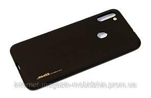 Чехол силиконовый Samsung A115 Galaxy A11 Silicon Black