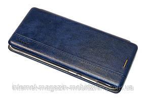 Чехол-книжка Samsung A115 Galaxy A11 синяя Gelius Leather