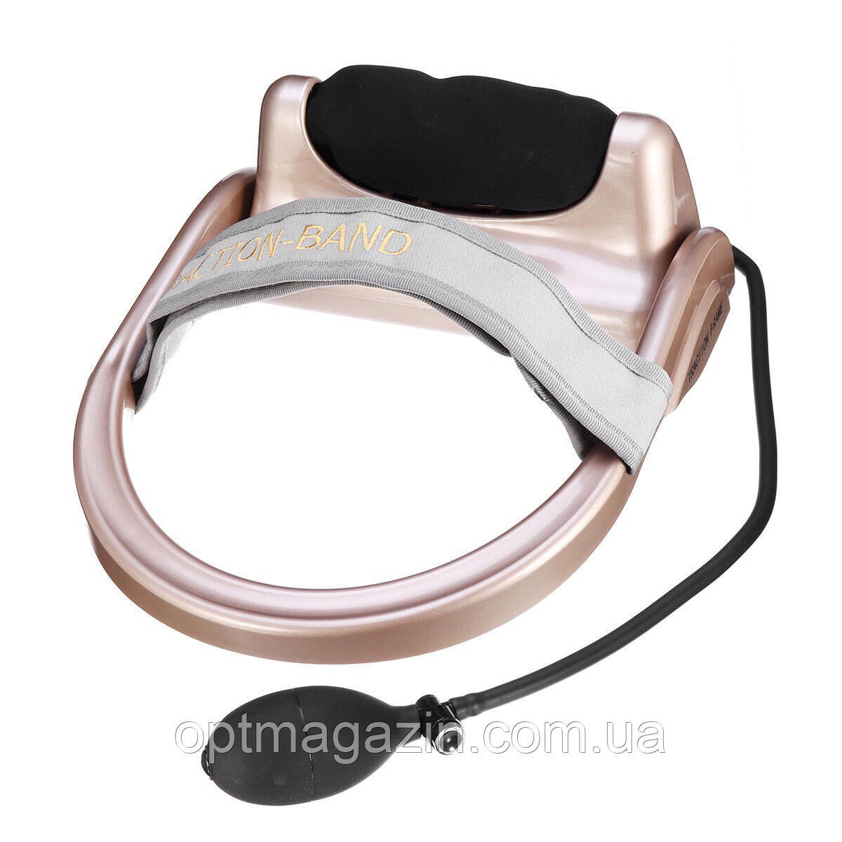 Массажер для шеи с грушой Сervical vertebra traction
