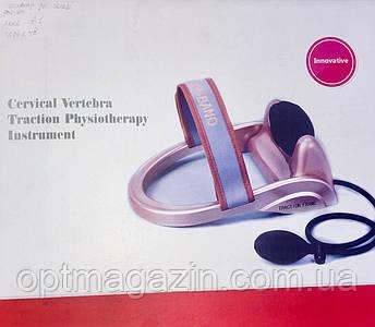 Массажер для шеи с грушой Сervical vertebra traction, фото 2