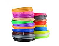 Пластик для 3D-ручки качество PLA 200 метров (20 цветов по 10м)