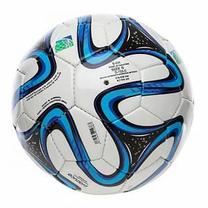 Мяч игровой футбольный полиуретан, с 3-мя слоями футбольный 896-2 179793