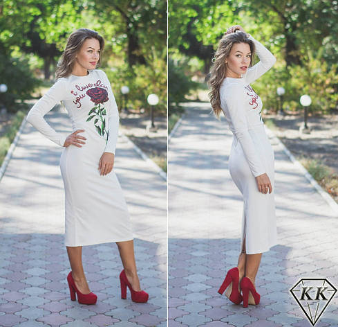Белое платье 152029, фото 2