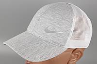 Кепка бейсболка стиль Nike светло-серая Размер 60 +/-, фото 1