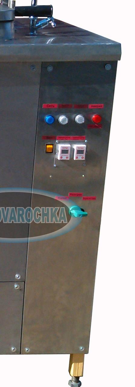 "Пищеварочный котел (без мешалки) КЭ 100 ДД (Крашеный) - ""SKOROVAROCHKA"""