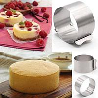Раздвижные формы для выпечки и сборки тортов