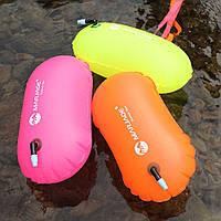 Яркий буй для плавания, для триатлона, тренировки на открытой воде