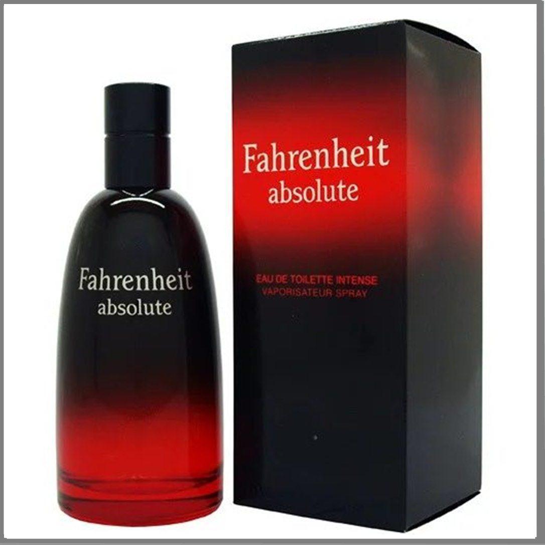 Fahrenheit Absolute туалетная вода 100 ml. (Фаренгейт Абсолют)