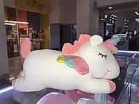 Мягкая игрушка единорог 42 см белый