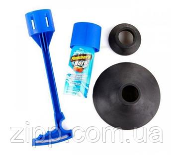 Вантуз Plumber's Kit Hero для унітазу і каналізаційних труб