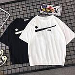 Жіночий літній костюм з футболкою і шортами з подворотами 6810893, фото 3