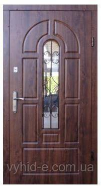 Двери входные ФОРТ. Эконом Арка (улица+притвор)