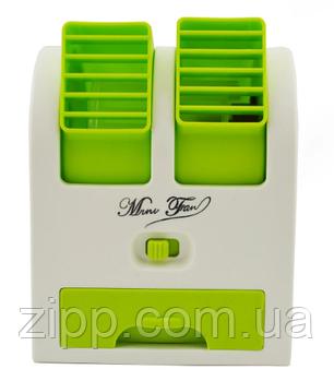 Міні usb вентилятор Mini Fan HB 168 настільний, портативний