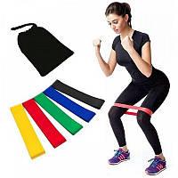 Резинки для фитнеса 5 в 1 Разноцветные