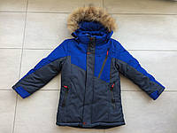 Куртка зимняя на мальчика 110-134 размер, фото 1