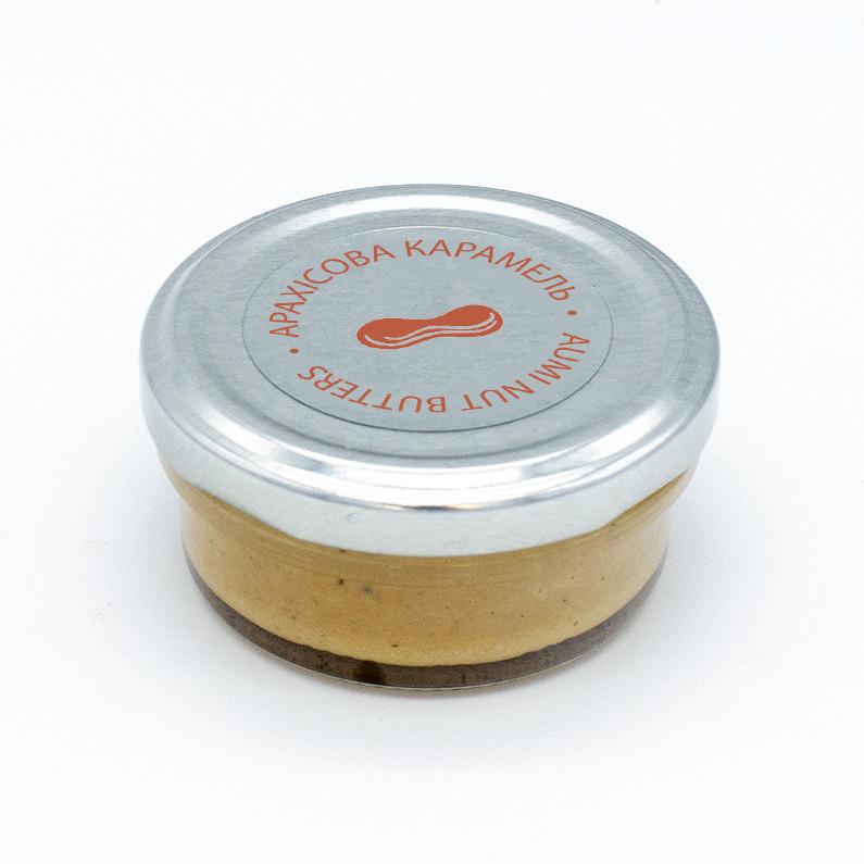 Арахисовая карамель, десерт, 50г, арахисовая паста с гималайской солью и вкусом карамели